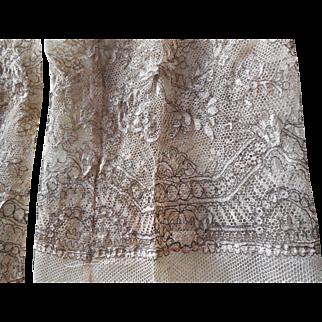 Rare Antique Fine Lace Dress Pieces