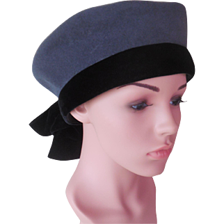Vintage 1930's Woman's Sailor Hat