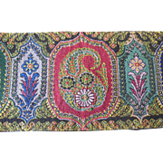 Colorful Vintage 1915-1920's Extra Wide Ribbon