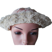 Vintage 1910-1920 Wedding Veil Headpiece