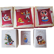 Hallmark Christmas Out-of-Date Disney Ornaments