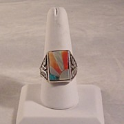 Hand Crafted Native American Ring ca 1970's