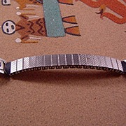 J. Nazzie Chip Inlay Watch Tips ca 1970's