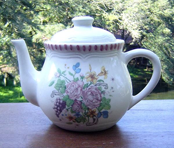 Garden Teapot from Himark China