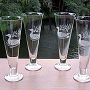 Mallard Etched Beer Pilsner