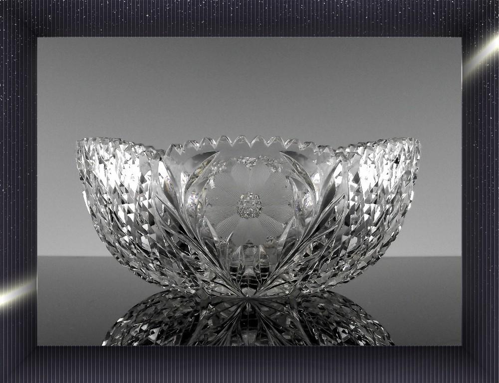 Brilliant Cut Old Fashioned Glass