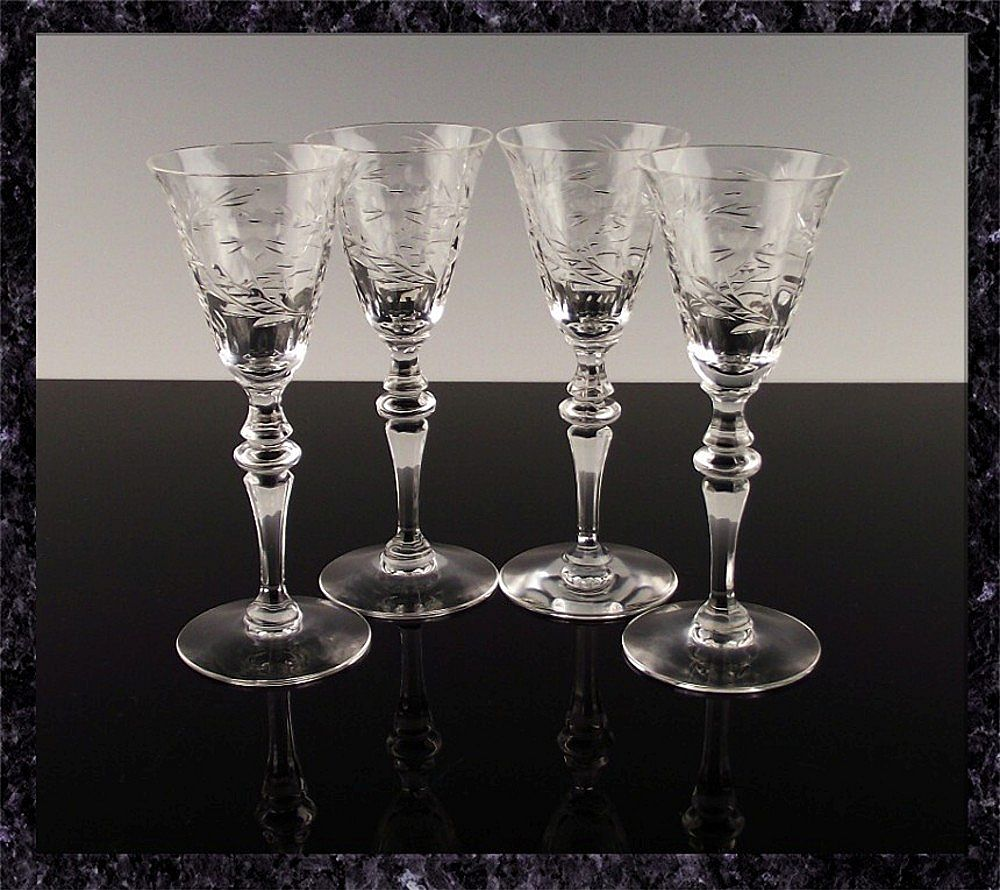 Cut Crystal Cordials by Seneca Crystal