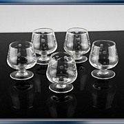Willow Moon Whiskey/Shot Glasses ca 1950's