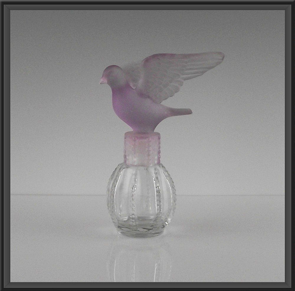 Delagar Royal Dove Perfume Bottle ca 1980's