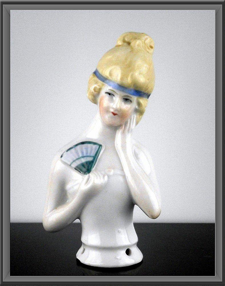Flapper Half Doll ca 1920's