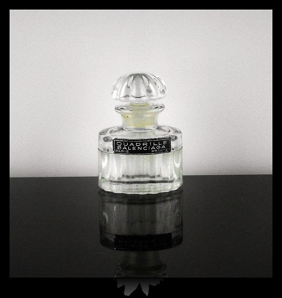 Mini Quadrille Balenciaga Perfume Bottle ca 1956