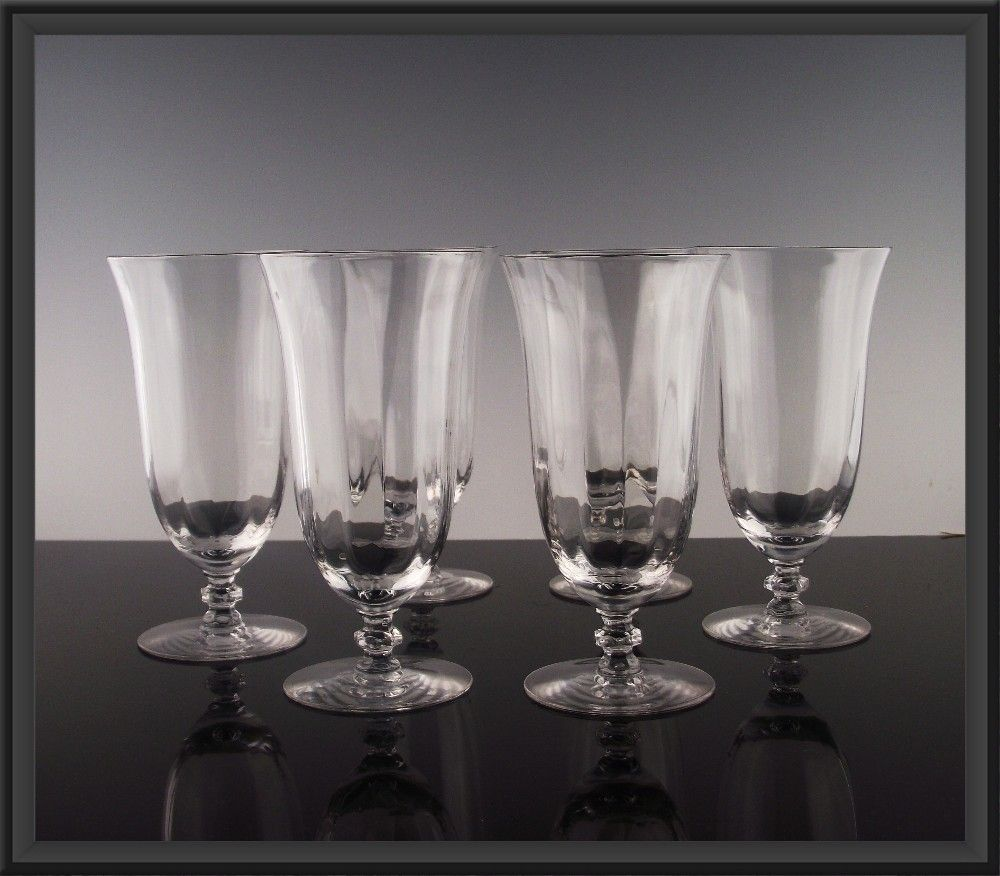Elegant Optic Tea Goblets