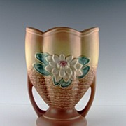 Hull Water Lily Vase in Matte Finish ca 1949-1950