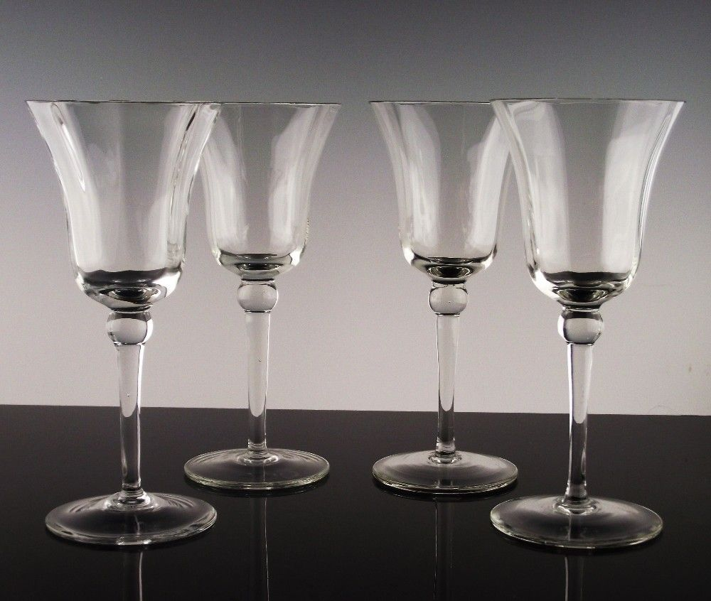 "Set of 4 ""Joy"" Wine Glasses"