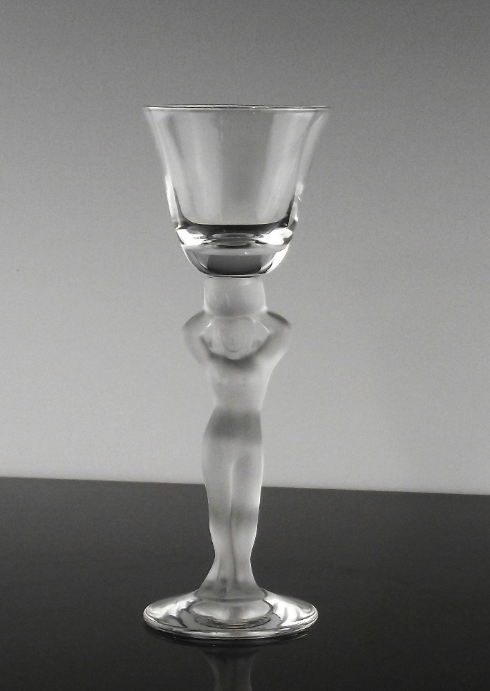 Frosted Nude Stem Cordial Made in France