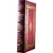 "Easton Press Signed First Edition ""Leading With My Chin"" Jay Leno"