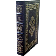"Easton Press Signed First Edition ""My America"" Hugh Down"