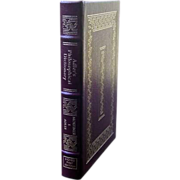 "Easton Press Signed First Edition""""Adler's Philosophical Dictionary"""