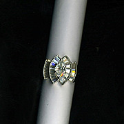 2.64 Carat Diamond Ring set in 14K Gold.