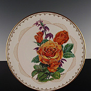 "Boehm Porcelain Collector's Plate ""Brandy"" ca 1983"