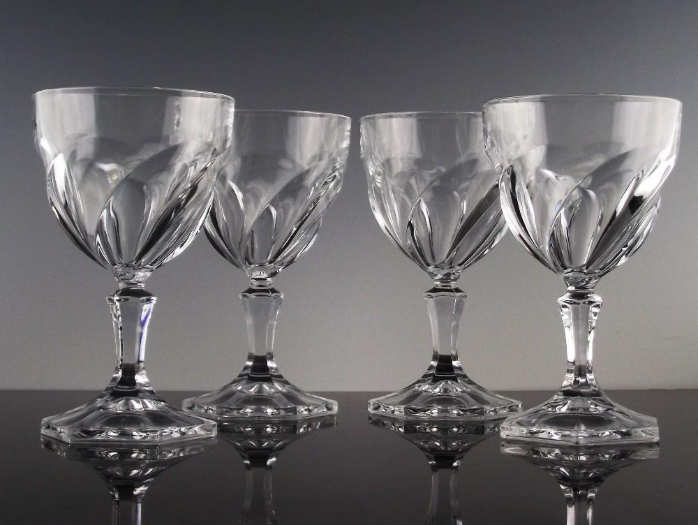 Orsay Water/ Large Wine Glasses Made in France