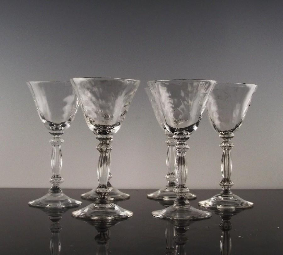 Caprice Liquor Cocktail by Cambridge Glass ca 1936-58