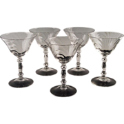 Caprice Champagne/Champagne Cocktail by Cambridge Glass ca 1936-58