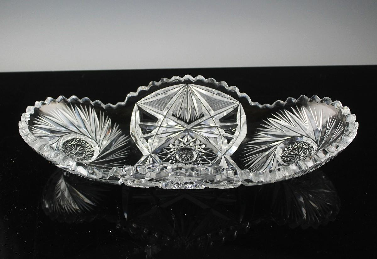 American Brilliant Relish Dish ca 1896-1917