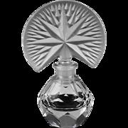 American Fan Perfume Bottle ca 1940's