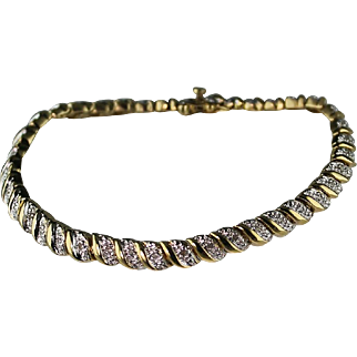 Dazzling Diamond Bracelet 1.75 Total Caret Weight