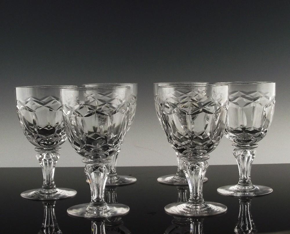 Regal Wine Glasses by Maastricht AKA Royal Leerdam ca 1948-53
