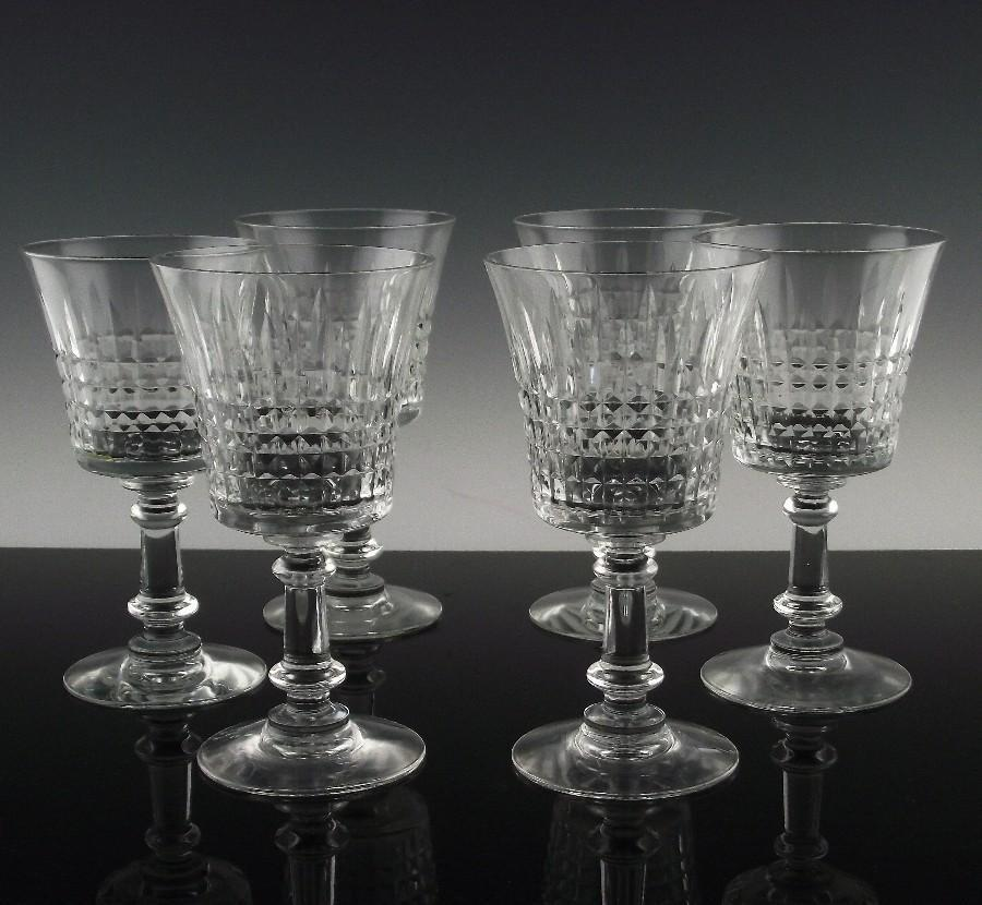 Fostoria's Revere Water/Large Wine Glasses ca 1950-71