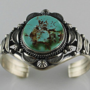Royston Turquoise and Sterling Bracelet