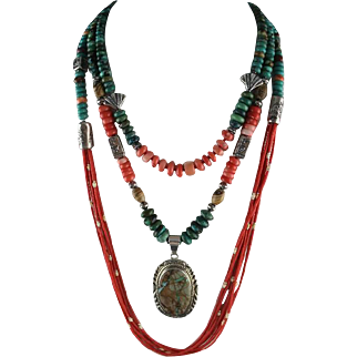 Fabulos Eclectic Turquoise and Coral Collection