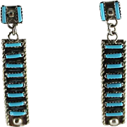 Charming Zuni Petite Point Earrings