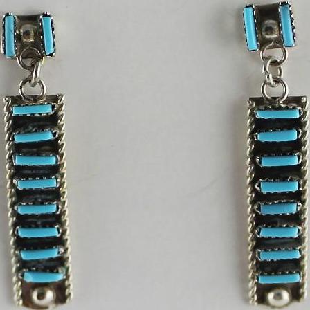 Charming Zuni Petite Point Earrings