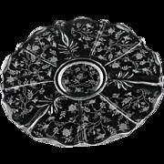 Fostoria  Chintz  Baroque Torte Plate