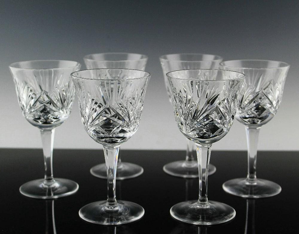 Cherrywood Wine Glasses by Gorham Crystal