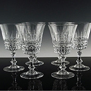 Made in France by Cristal D'Arques Water/Large Wine Glasses