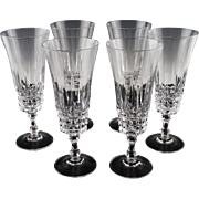 Made in France by Cristal D'Arques Champagne Flutes