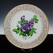 "Clearance: Boehm Porcelain Collector's Plate ""Angle Face"" ca 1982"