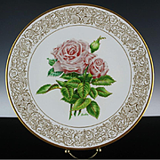"Clearance: Boehm Porcelain Collector's Plate ""Queen Elizabeth"" ca 1982"
