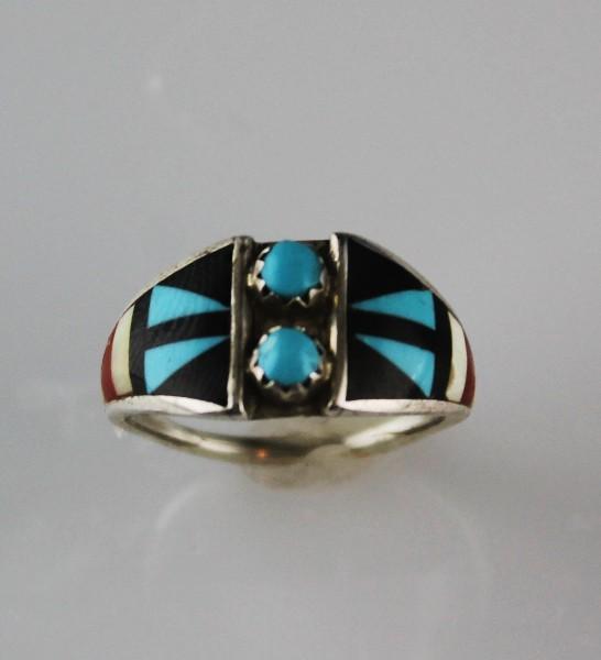 Zuni Ring by Renown Artist Delberta Boone