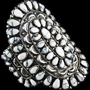 Navajo White Buffalo Bracelet