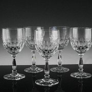 Crystal Wine Glasses in Delilah Pattern by Schott-Zwiesel