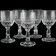 Crystal Wine Glasses in Delilah Pattern by Schott-Zwiesel