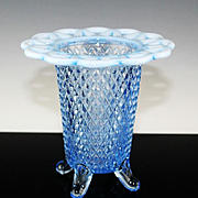 Imperial Glass Open Edge Lace Vase ca 1930