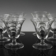 Caprice by Cambridge Juice Glasses ca 1936-58
