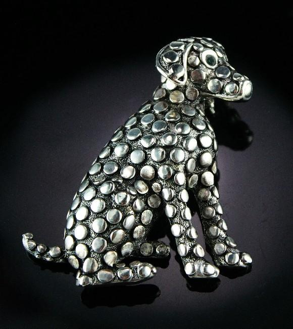 Adorable Dalmatian Pin