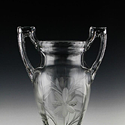 Art Deco Trophy Vase by Tiffin Glass ca 1927-35
